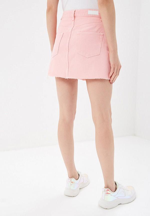 Фото 3 - женскую юбку Sela розового цвета