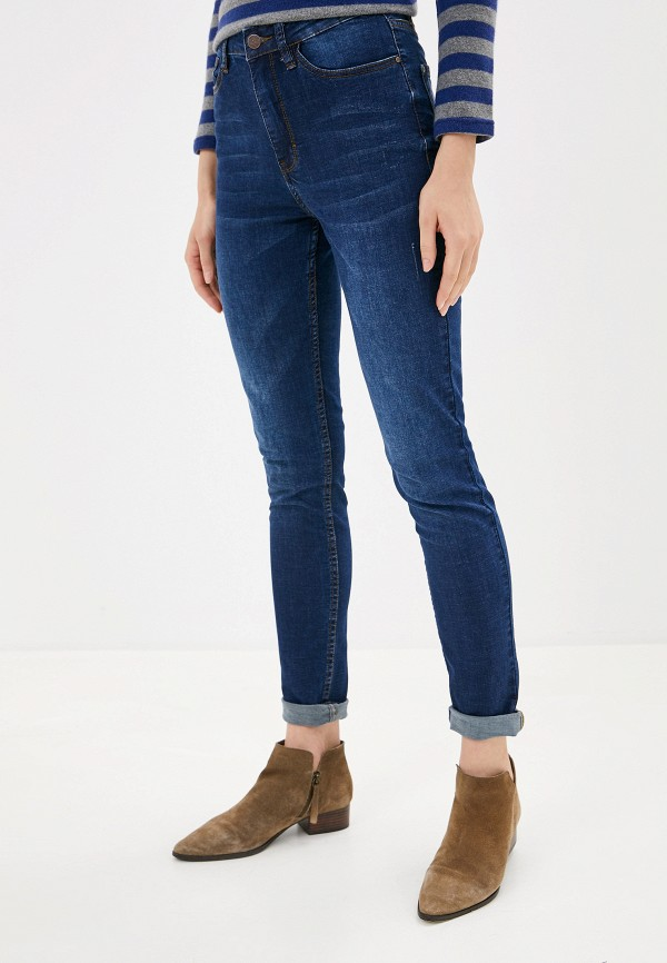 женские джинсы sela, синие