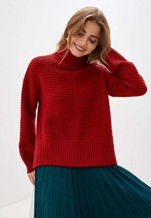 женский свитер sela, красный