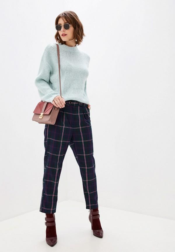 Фото 2 - женский джемпер Sela бирюзового цвета