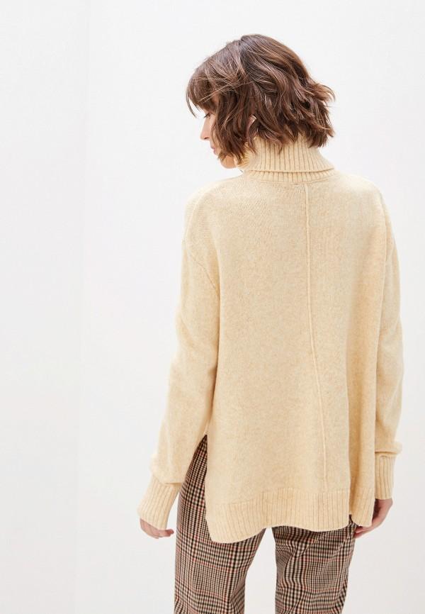 Фото 3 - женский свитер Sela бежевого цвета