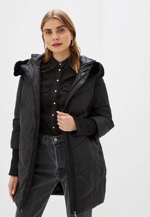 Фото - Куртку утепленная Sela черного цвета