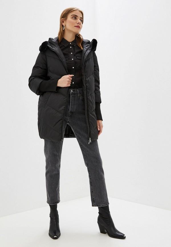 Фото 2 - Куртку утепленная Sela черного цвета