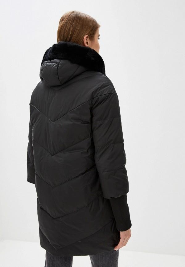 Фото 3 - Куртку утепленная Sela черного цвета