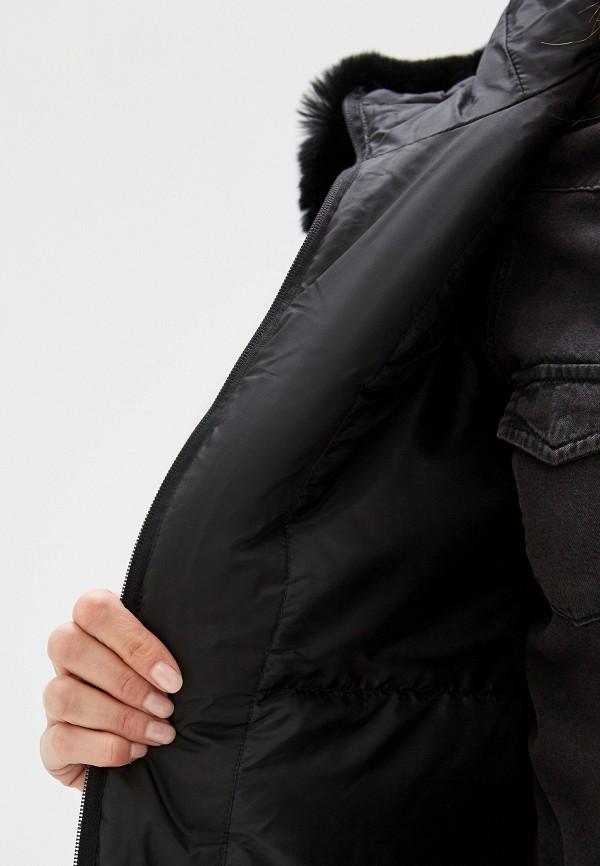 Фото 5 - Куртку утепленная Sela черного цвета