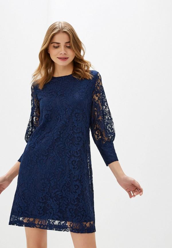 женское вечерние платье sela, синее