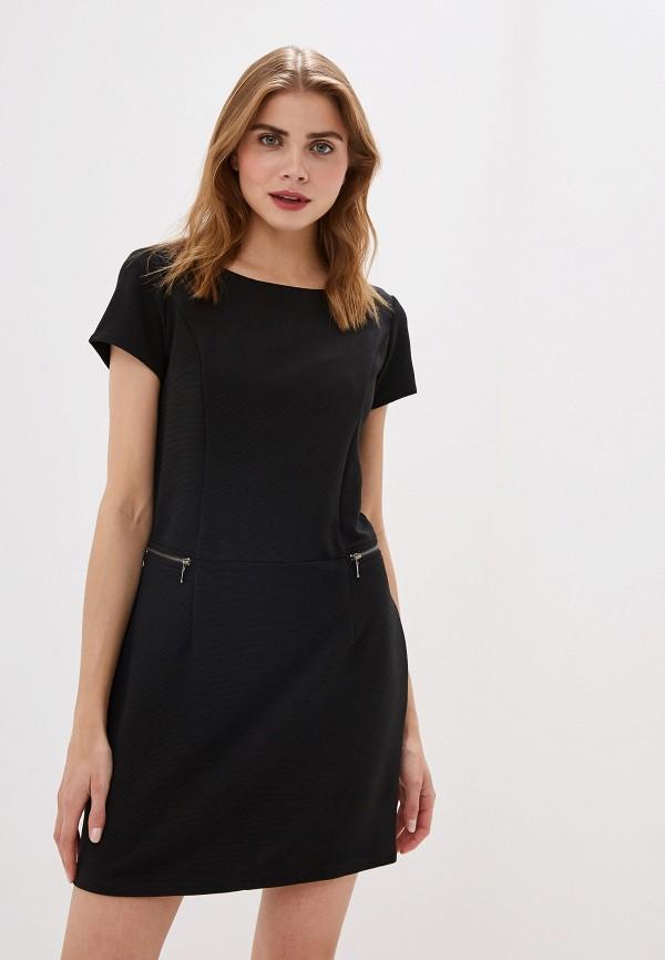 Фото - женское платье Sela черного цвета