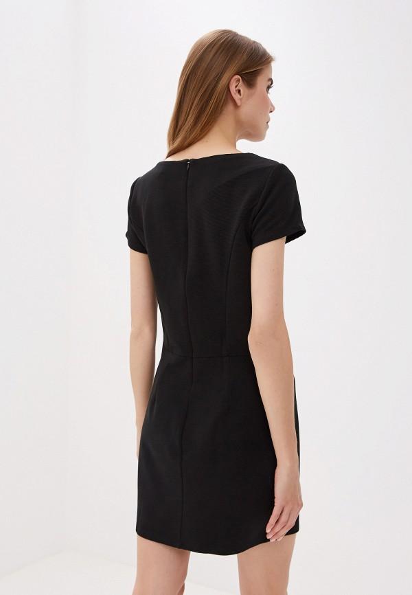 Фото 3 - женское платье Sela черного цвета