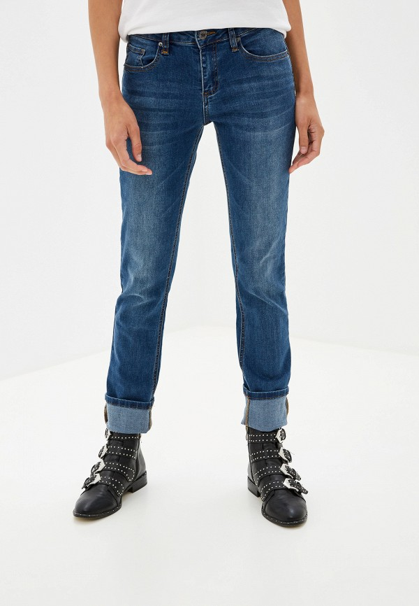 Фото - женские джинсы Sela синего цвета