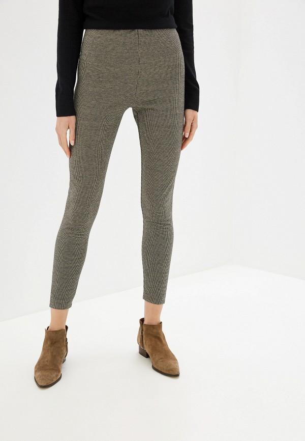 женские повседневные брюки sela, коричневые