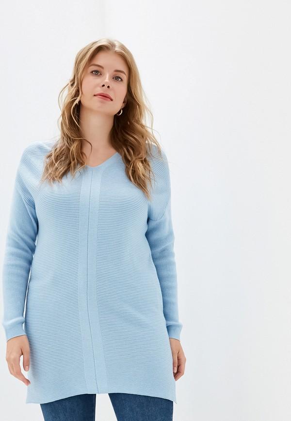 женская туника sela, голубая