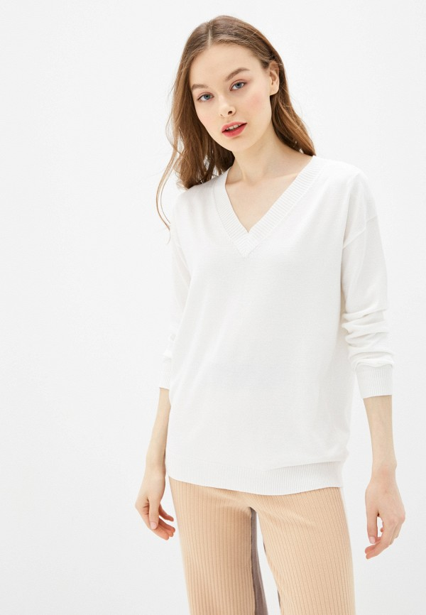 женский пуловер sela, белый