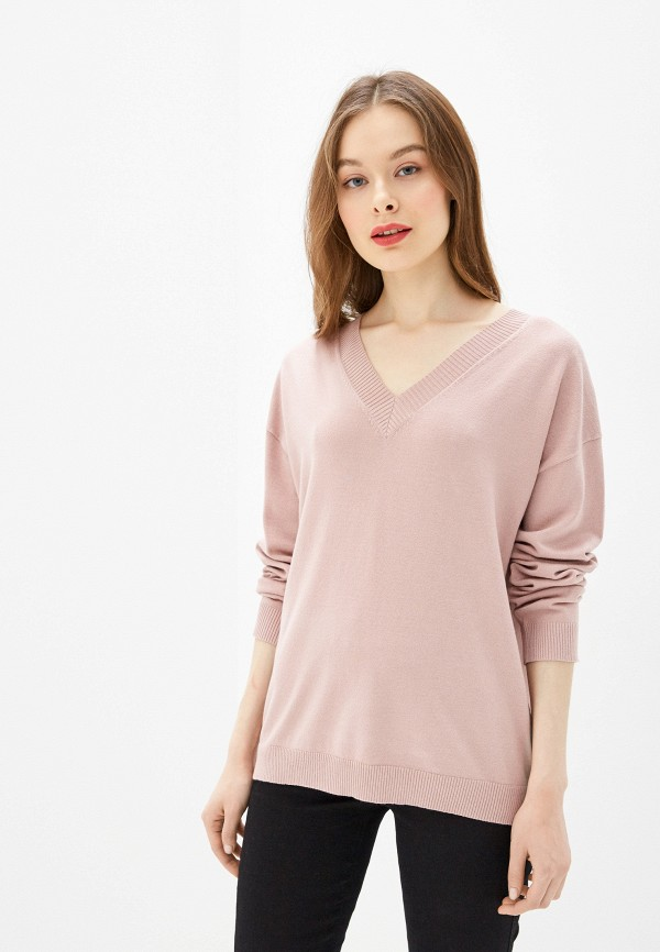 женский пуловер sela, розовый