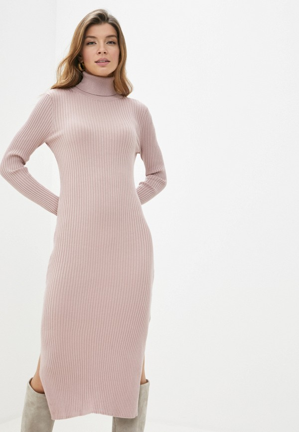 женское платье sela, розовое