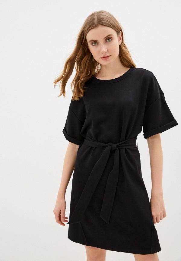 женское платье sela, черное