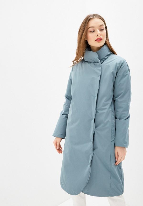 женская куртка sela, бирюзовая