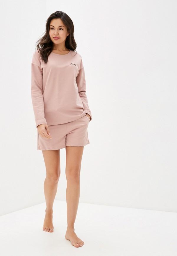 женский костюм sela, розовый