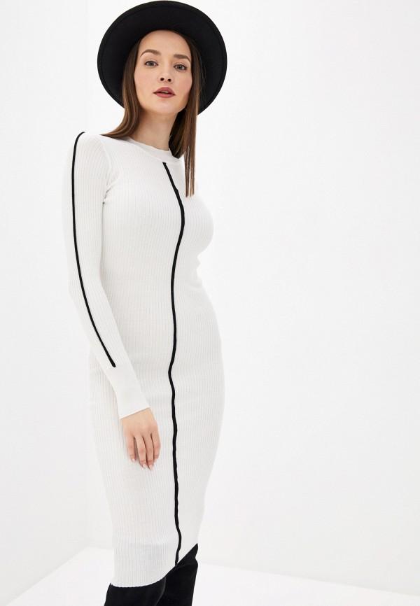 женское платье sela, белое