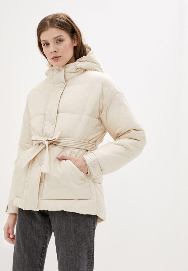 женская куртка sela, бежевая