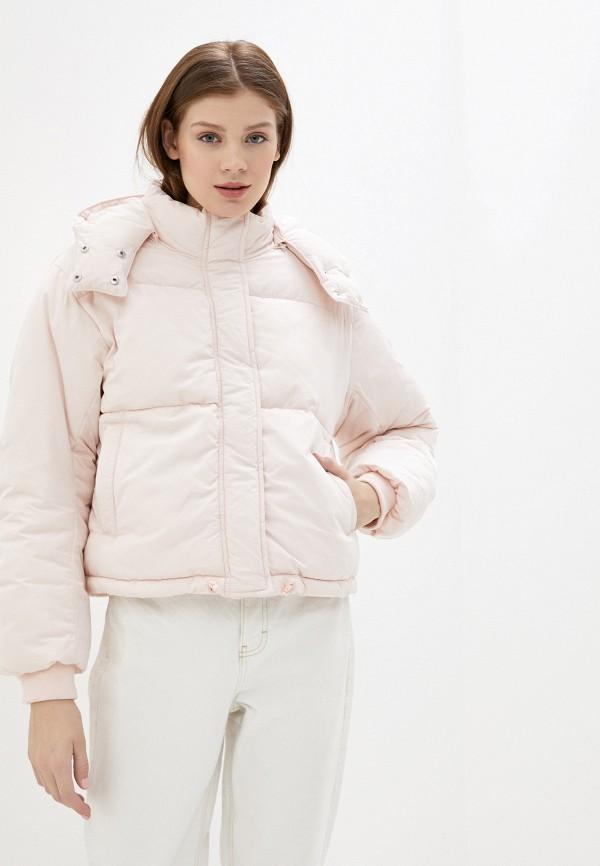женская куртка sela, розовая