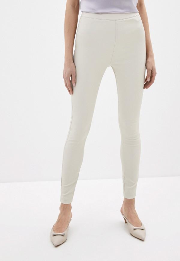 женские повседневные брюки sela, бежевые