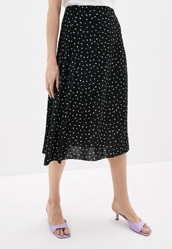 женская юбка sela, черная