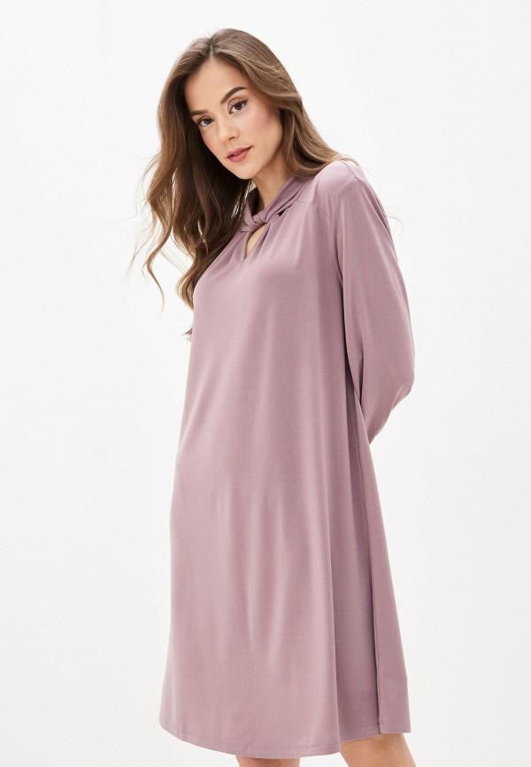 женское повседневные платье sela, розовое