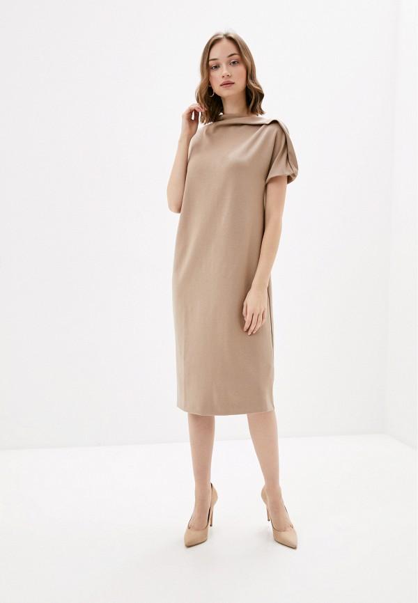 женское повседневные платье sela, бежевое