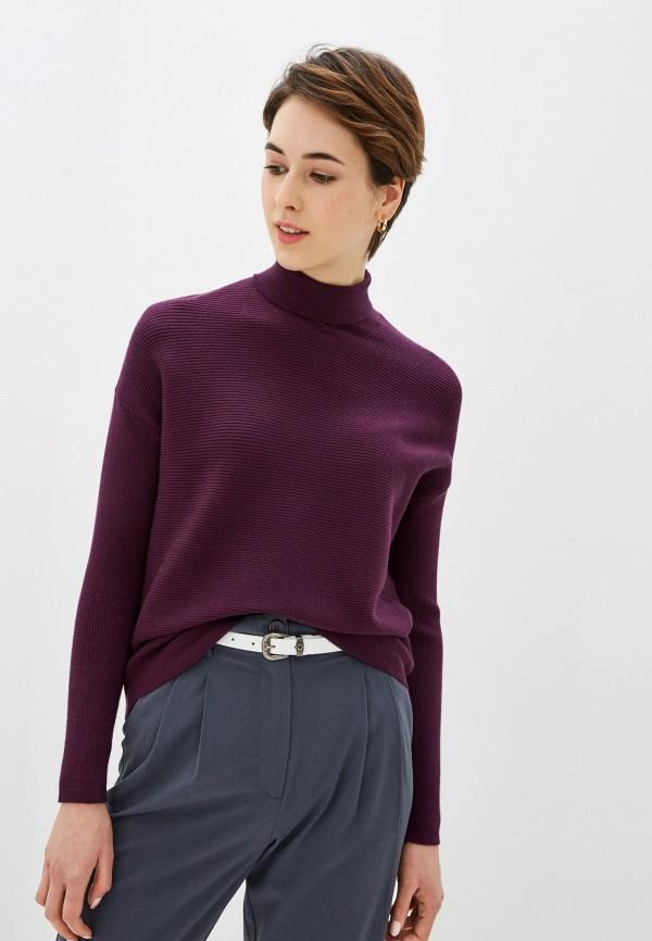 женская водолазка sela, фиолетовая