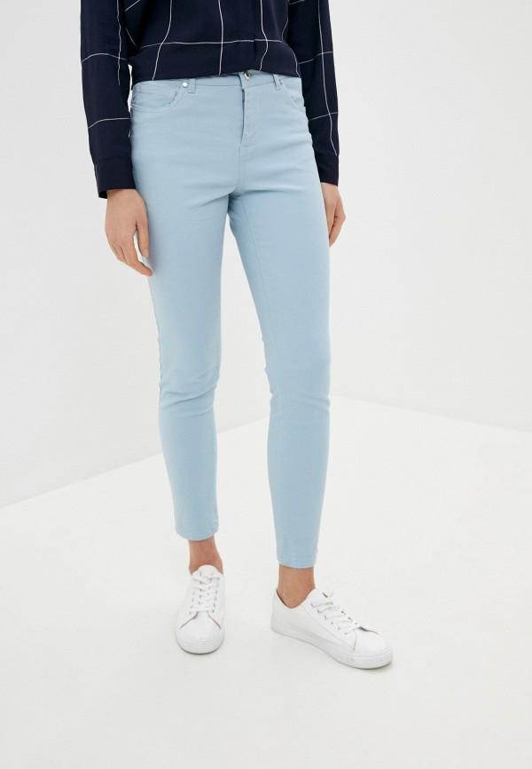 женские повседневные брюки sela, голубые