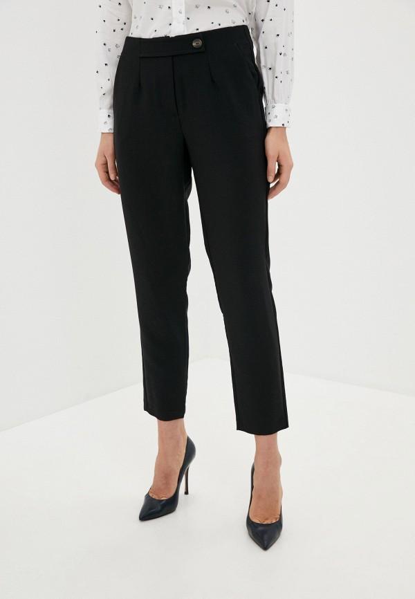 женские повседневные брюки sela, черные