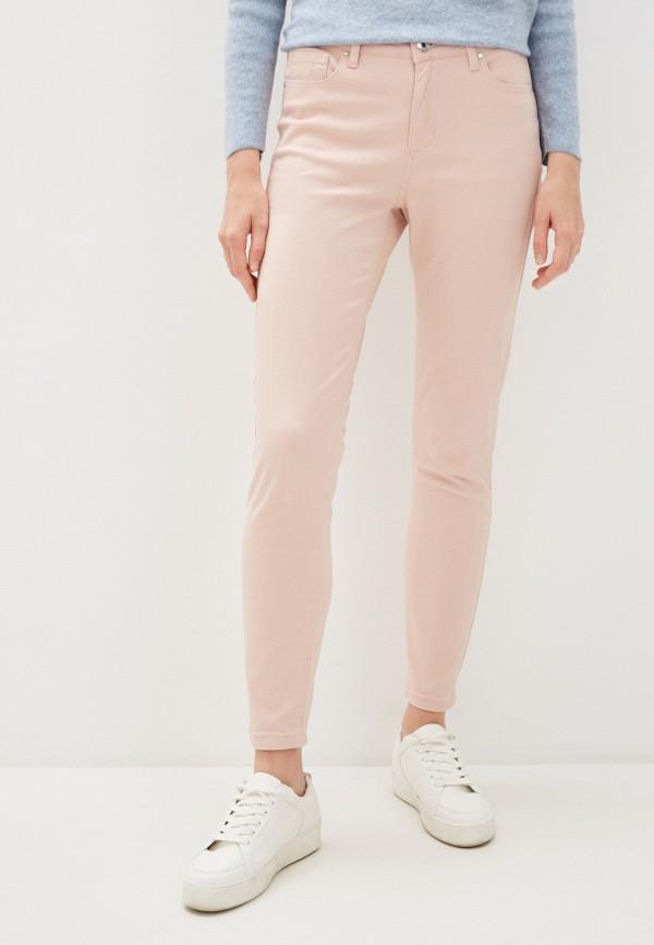 женские повседневные брюки sela, розовые
