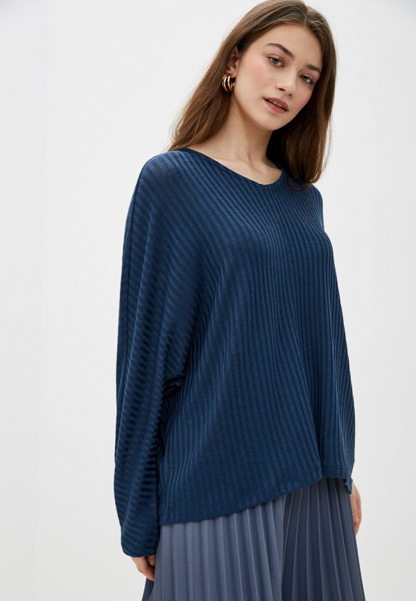 женский пуловер sela, синий