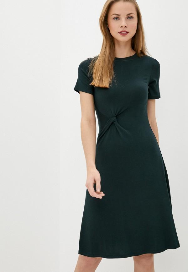 женское платье sela, зеленое
