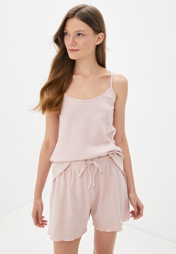 женская пижама sela, розовая