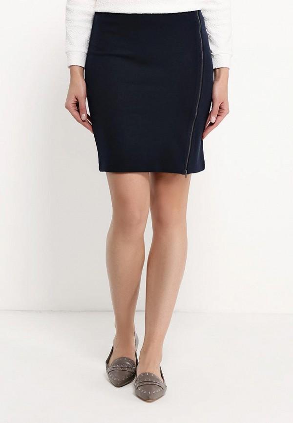 Фото - женскую юбку Sela синего цвета