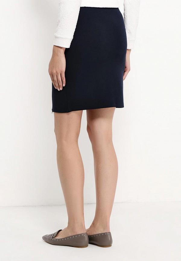 Фото 2 - женскую юбку Sela синего цвета