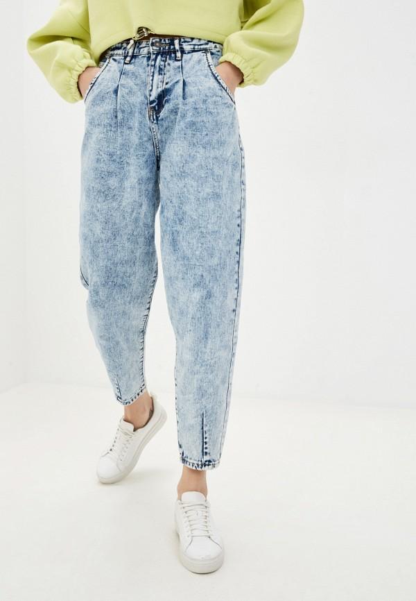 женские джинсы sela, голубые