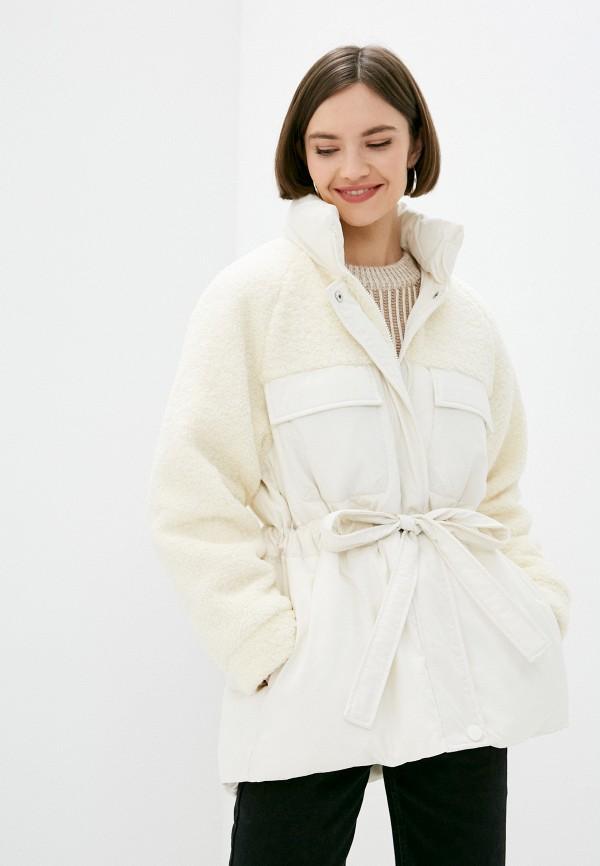женская куртка sela, белая