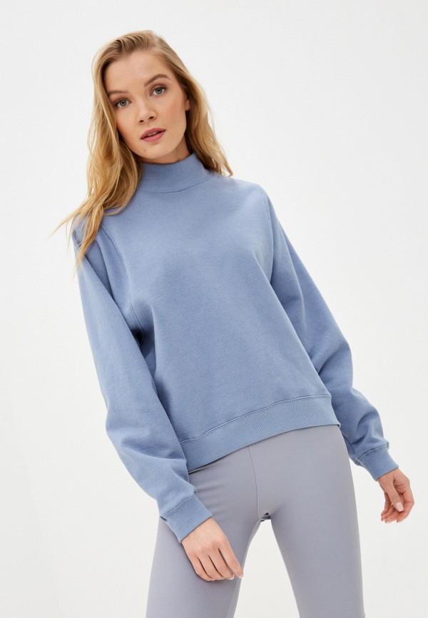 женский свитшот sela, голубой