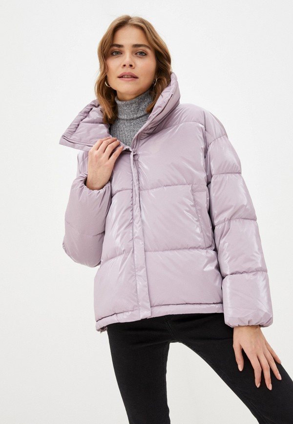 женская куртка sela, фиолетовая