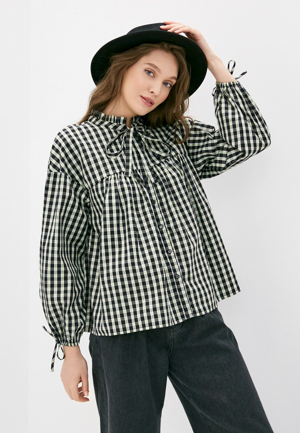 женская блузка sela, разноцветная