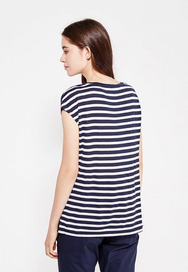 Фото 3 - женскую футболку Sela синего цвета