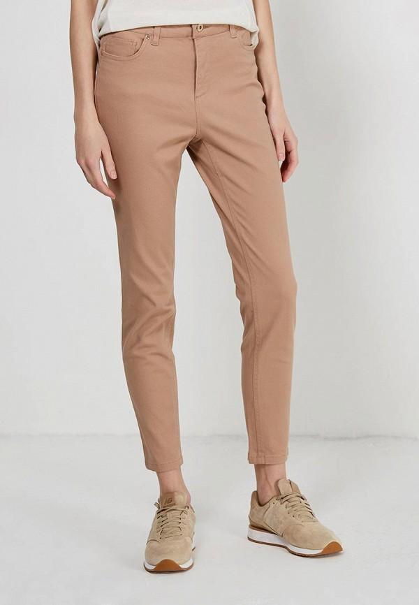 Фото - женские брюки Sela бежевого цвета