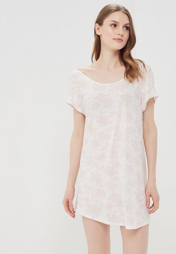 Купить Платье домашнее Sela белого цвета