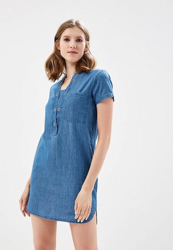 Платье джинсовое Sela Sela SE001EWZNC55