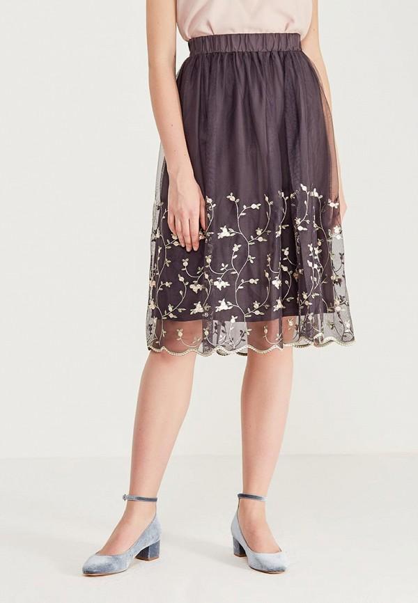 Фото - женскую юбку Sela серого цвета