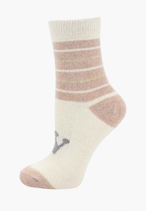 женские носки sela, бежевые