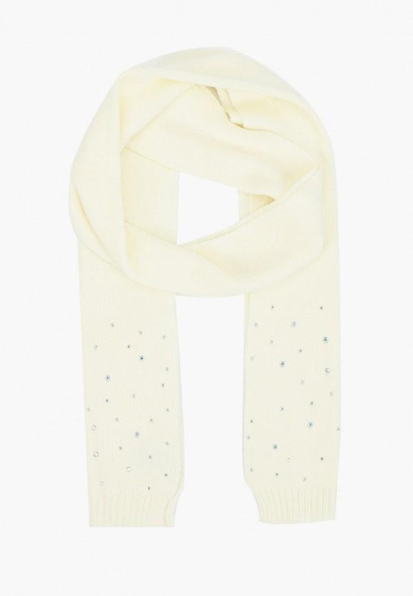 шарф sela для девочки, белый