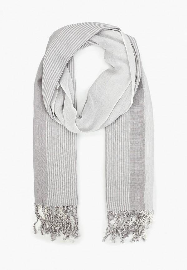Фото - мужской шарф Sela серого цвета
